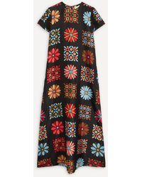La DoubleJ Swing Maxi-dress - Multicolour