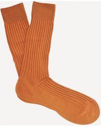 Pantherella Danvers Ribbed Socks - Multicolour