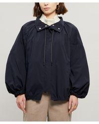 3.1 Phillip Lim Oversized Zip Front Jacket - Blue