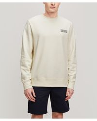WOOD WOOD Hugh Info Sweatshirt - White
