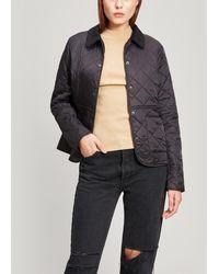 Barbour Deveron Quilted Jacket - Black