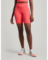 GIRLFRIEND COLLECTIVE High-rise Bike Shorts - Red