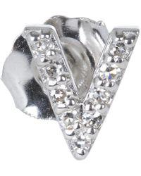 KC Designs | Diamond Z Single Stud Earring | Lyst