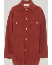 Paloma Wool Mau Corduroy Shirt - Red