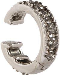 Annoushka - 18ct White Gold Dusty Diamonds Hinged Ear Cuff - Lyst