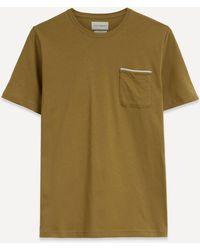 Oliver Spencer Oli Trim Pocket T-shirt - Brown