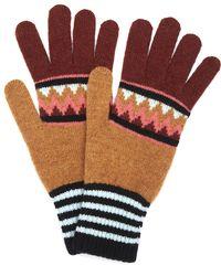 Quinton-chadwick - Rainbow Zig Zag Gloves - Lyst