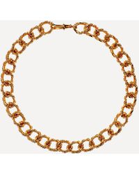 Alighieri Gold-plated The Unreal City Choker Necklace - Metallic