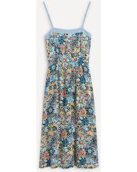Roxy Marine Bloom Midi-dress - Blue