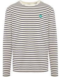 WOOD WOOD Core Long-sleeve Striped T-shirt - Multicolour