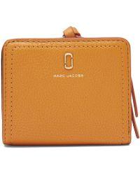 Marc Jacobs The Softshot Mini Compact Wallet - Orange