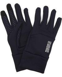 WOOD WOOD Holger Tech Gloves - Blue