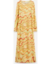Paloma Wool Problema Locas Print Fitted Dress - Multicolour