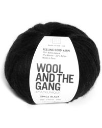 Wool And The Gang Feeling Good Space Black Yarn