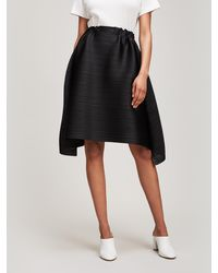 Pleats Please Issey Miyake - Sail Bounce Skirt - Lyst