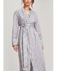 Liberty Jonquil Tana Lawn Cotton Robe - Pink