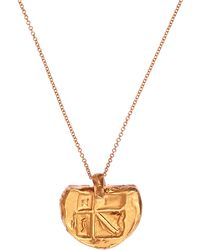 Alighieri - Gold-plated Il Leone Medallion Necklace - Lyst