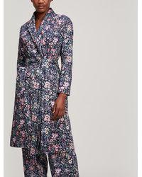 Liberty - Delilah Tana Lawn Cotton Long Robe - Lyst
