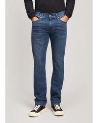 PAIGE Federal Slim-straight Leg Jeans - Blue