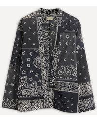 Kapital Bandana Kimono Shirt - Black