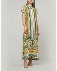 LaDoubleJ Ittica Short-sleeve Swing Dress - Multicolor