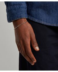 Tom Wood Box Bracelet - Metallic