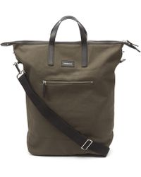 Sandqvist - Jussi Canvas Zip Top Tote Bag - Lyst