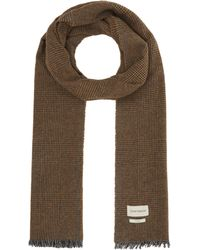 Oliver Spencer Mores Prince Of Wales Scarf - Multicolour