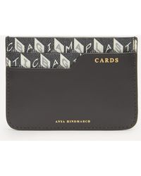 Anya Hindmarch I Am A Plastic Bag Recycled Coated Canvas Card Case - Multicolour