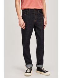 Nudie Jeans Steady Eddie Ii Rinsed Jeans - Blue