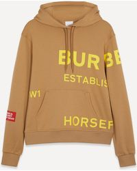 Burberry Horseferry Print Oversized Hoodie - Multicolor