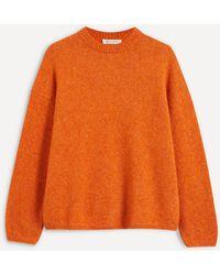 MASSCOB Fia Knit Sweater - Orange