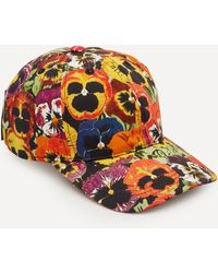 Loewe Pansies Cap - Multicolour