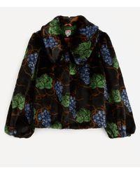 Shrimps Filbert Faux Fur Jacket - Multicolour