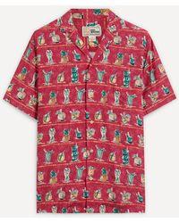 Reyn Spooner Pua Hana Hawaiian Shirt - Red