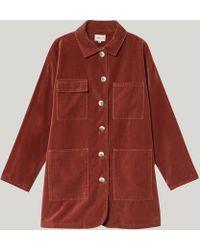 Paloma Wool Malina Four Pocket Jacket - Red