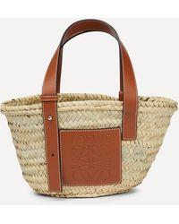 Loewe Small Basket Bag - Brown