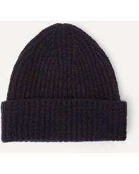 Acne Studios Wool-blend Beanie Hat - Brown