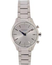 Kronaby - Sekel Stainless Steel Strap Watch - Lyst