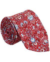 Liberty Lodden Silk Tie - Red