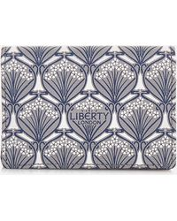 Liberty Iphis Canvas Card Holder - Grey