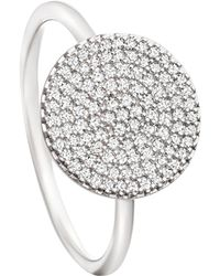 Astley Clarke - White Gold Icon Diamond Ring - Lyst