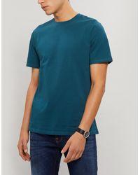 A.P.C. Jimmy Cotton T-shirt - Blue