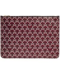 Liberty Large Pouch In Iphis Canvas - Multicolour