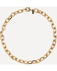 Joolz by Martha Calvo Gold-plated Celine Chain Necklace - Metallic