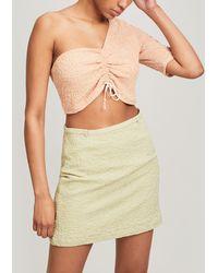 Paloma Wool Olimpia One Shoulder Top - Orange