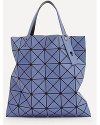 Bao Bao Issey Miyake Lucent Two-tone Tote Bag - Blue