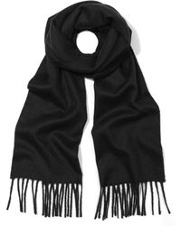 Johnstons - Johnstons Solid Cashmere Scarf - Lyst