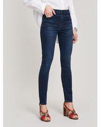 J Brand - Maria High-rise Photoready Skinny Jeans - Lyst