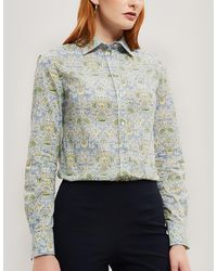 Liberty Lodden Tana Lawn' Cotton Camilla Shirt - Multicolour